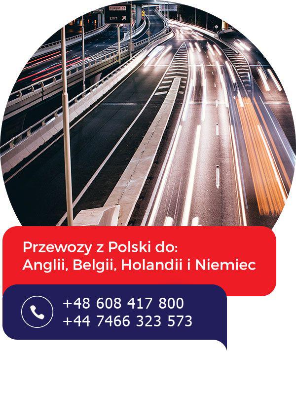 Busy z Polski do Anglii
