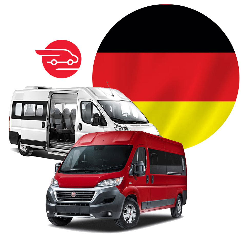 busy i transport os b do niemiec prima bus. Black Bedroom Furniture Sets. Home Design Ideas